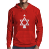 Chrismukkah Tree Christmas Mens Hoodie