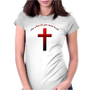 Christian cross Womens Fitted T-Shirt