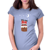 Christmas Chimney Womens Fitted T-Shirt