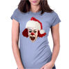 christmas clown Womens Fitted T-Shirt