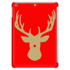 Christmas deer with a red nose Tablet (vertical)