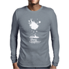 Christmas Icons With Snow Mens Long Sleeve T-Shirt