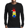 Christmas Minion Mens Long Sleeve T-Shirt