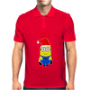 Christmas Minion Mens Polo