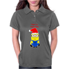 Christmas Minion Womens Polo