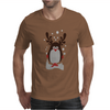 Christmas Penguin Mens T-Shirt