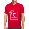 Christmas Periodic Table Of Elements Mens Polo