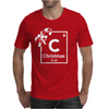 Christmas Periodic Table Of Elements Mens T-Shirt