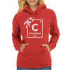 Christmas Periodic Table Of Elements Womens Hoodie