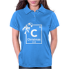 Christmas Periodic Table Of Elements Womens Polo