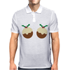 Christmas Pudding Mens Polo