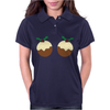 Christmas Pudding Womens Polo