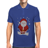Christmas Santa Mens Polo