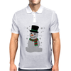 Christmas Snowman Mens Polo
