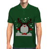 Christmas T Shirt Santa Reindeer Penguin Novelty Xmas Mens Polo