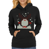Christmas T Shirt Santa Reindeer Penguin Novelty Xmas Womens Hoodie