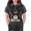Christmas T Shirt Santa Reindeer Penguin Novelty Xmas Womens Polo