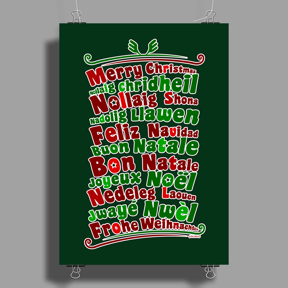 Christmas time Poster Print (Portrait)