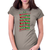 Christmas time Womens Fitted T-Shirt