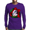 Christmas Wreath Bluebie Bust by BlueKazenate Mens Long Sleeve T-Shirt