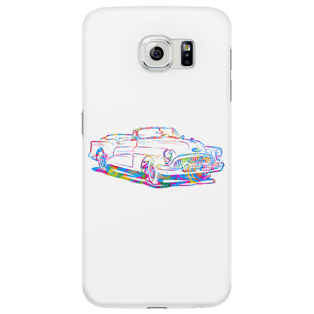 chromatic buick art Phone Case