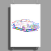 chromatic buick art Poster Print (Portrait)