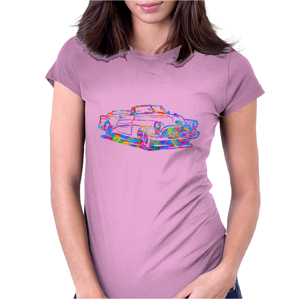 chromatic buick art Womens Fitted T-Shirt