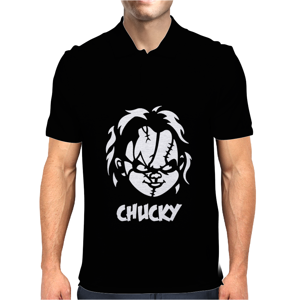 Chucky 1 Horror Mens Polo