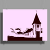 Church Poster Print (Landscape)