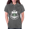 CIA Badge Cider Imbibing Anarchist With Badge Womens Polo