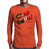 Ciao Bella design Mens Long Sleeve T-Shirt
