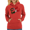 Ciao Bella design Womens Hoodie