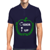 Cider I Up West Country Cider Drinking Mens Polo