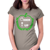 Cider I Up West Country Cider Drinking Womens Fitted T-Shirt