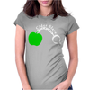 Cider Slave Drinking West Country Apple Scrumpy Rough Cyder Womens Fitted T-Shirt