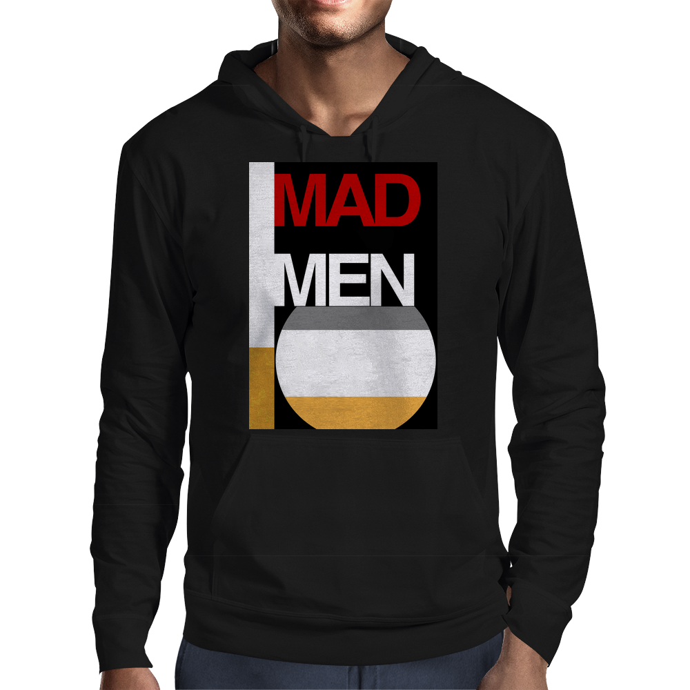 Cigarette and Whiskey. Mens Hoodie