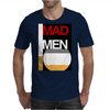 Cigarette and Whiskey. Mens T-Shirt
