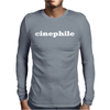 Cinephile Mens Long Sleeve T-Shirt