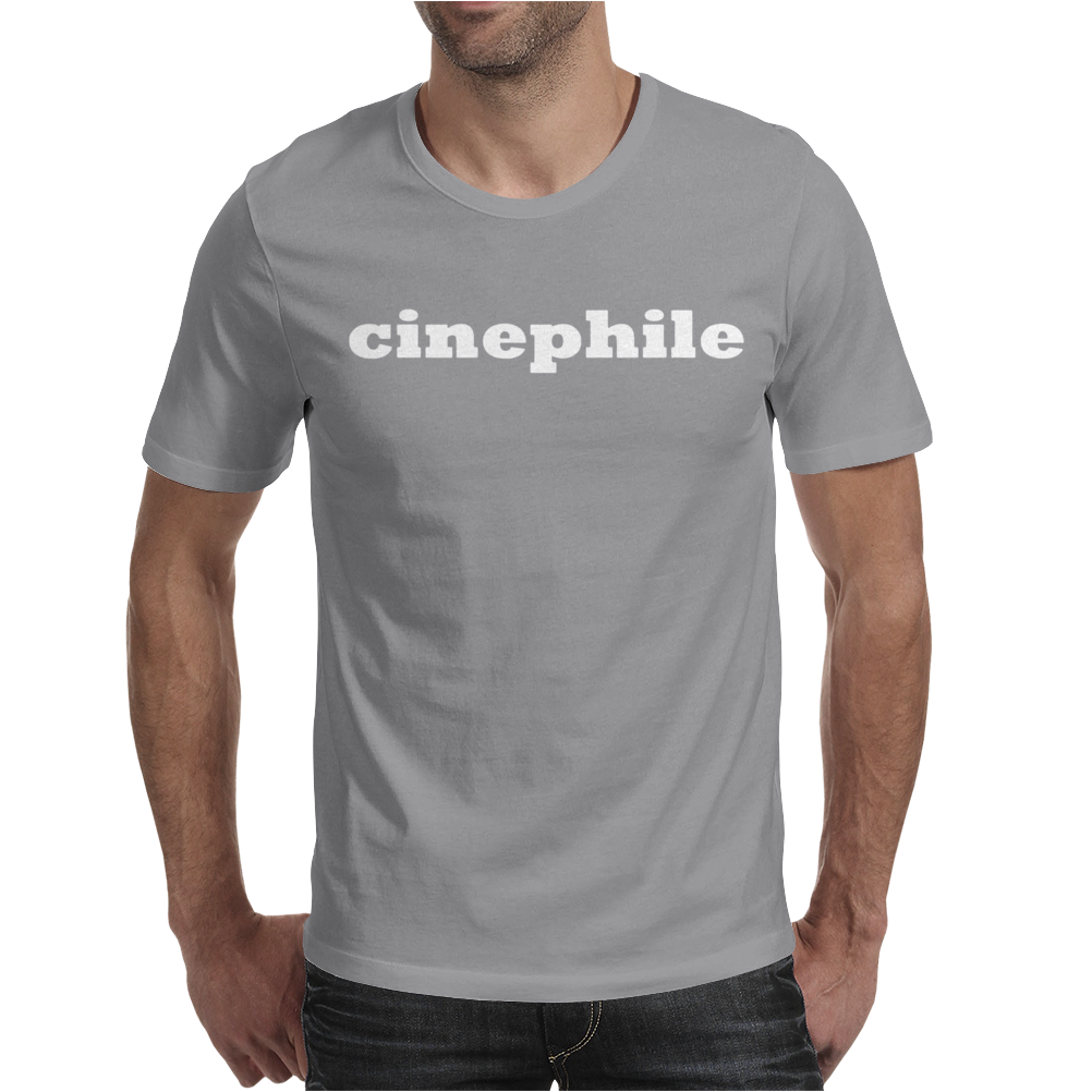 Cinephile Mens T-Shirt