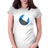 Circle Shadow T-Shirt Womens Fitted T-Shirt