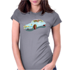 Citroen DS Rallye Monte Carlo Womens Fitted T-Shirt