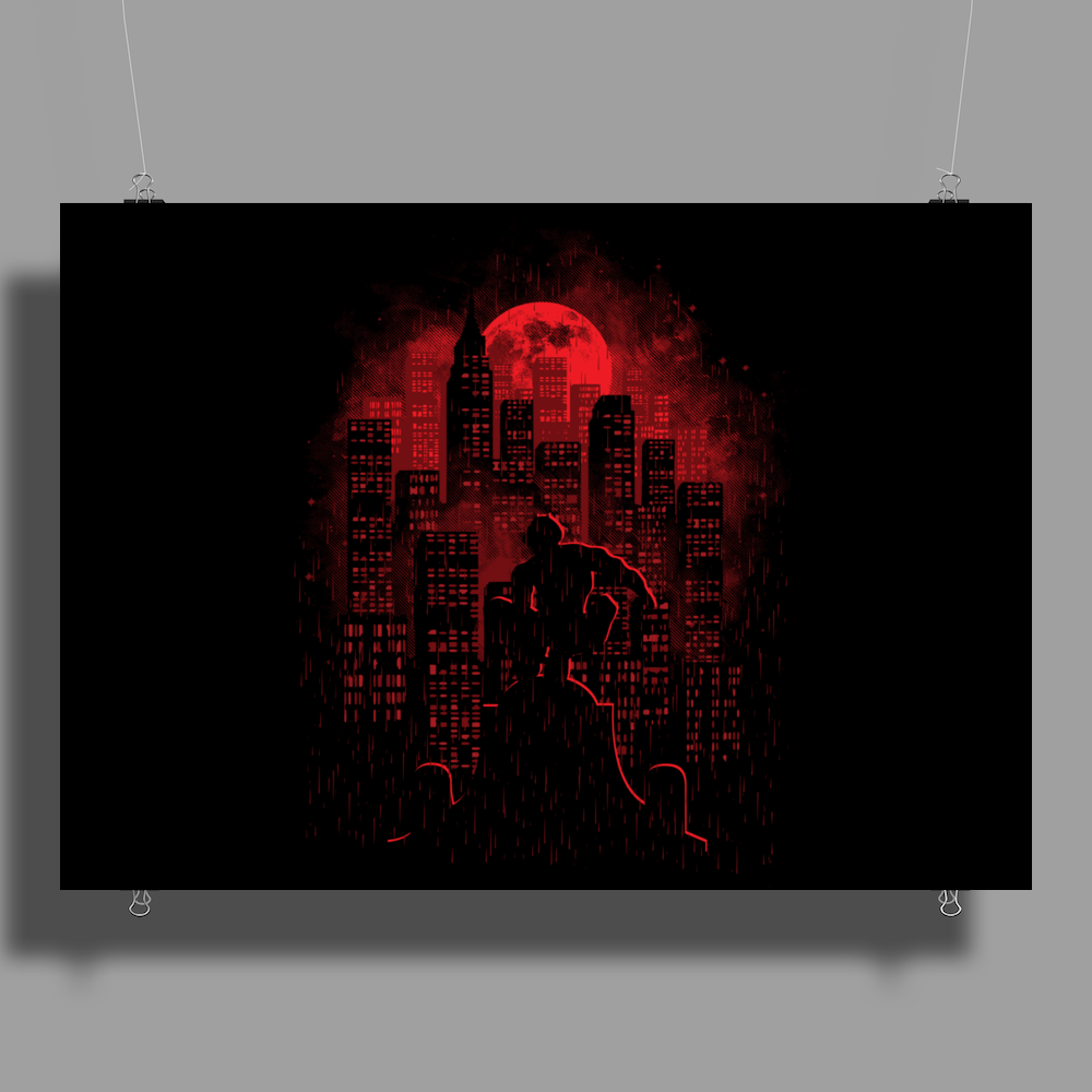 City Of Devils Poster Print (Landscape)