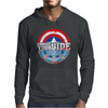 Civil War - Choose Your Side - Faded Mens Hoodie