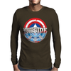 Civil War - Choose Your Side - Faded Mens Long Sleeve T-Shirt