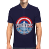 Civil War - Choose Your Side - Faded Mens Polo