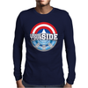 Civil War - Choose Your Side Mens Long Sleeve T-Shirt