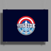 Civil War - Choose Your Side Poster Print (Landscape)