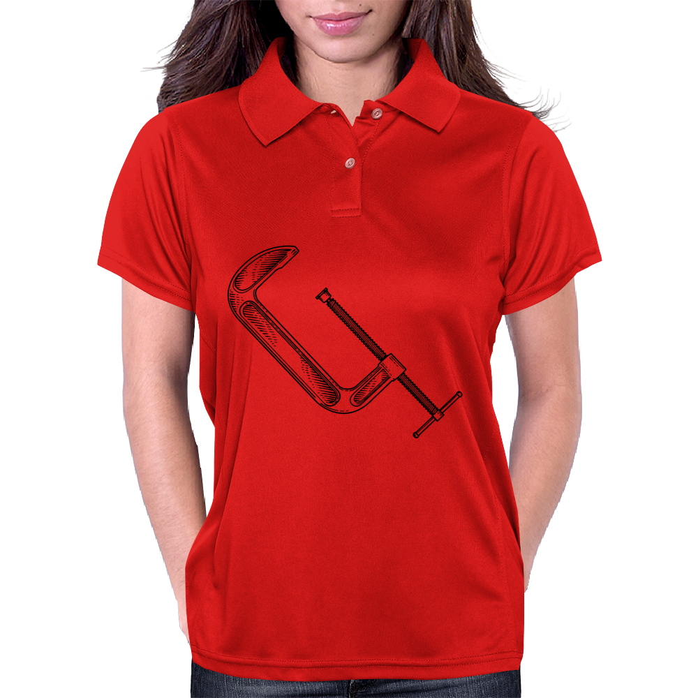 clamp tool art Womens Polo