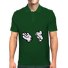 clapping hands Mens Polo