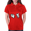 clapping hands Womens Polo